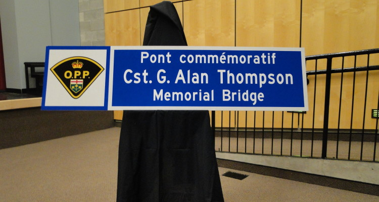 Bridge dedication