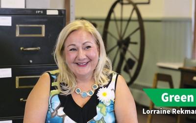 Lorraine Rekmans, Green Party