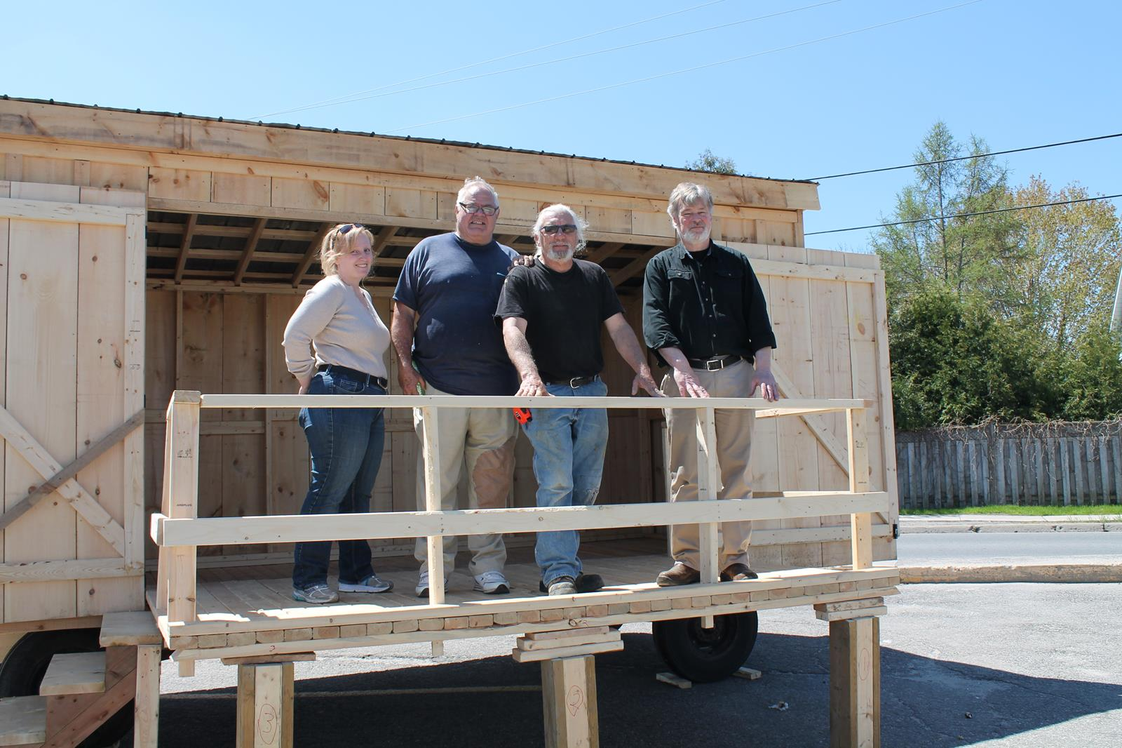 New stage for Kemptville's Farmers' Market - The North