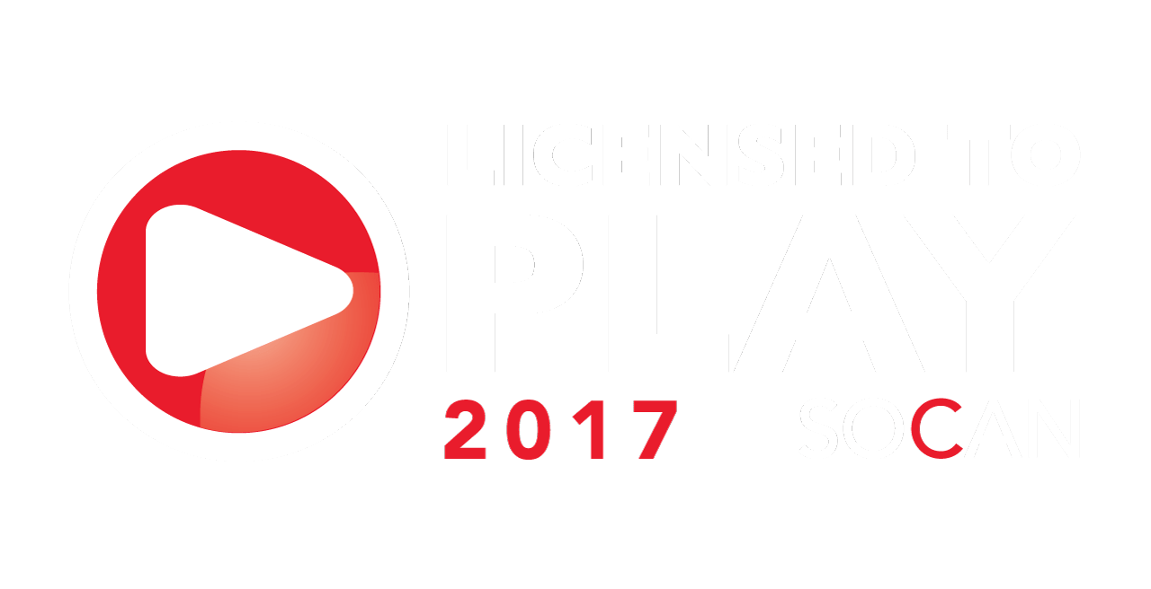 Licensed to play music from SOCAN on this site