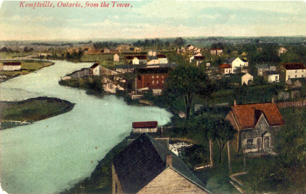 Kemptville, Ontario from the Tower