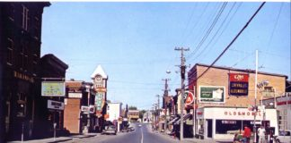 Prescott St, Kemptville, looking North