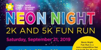 Neon Night for Childhood Cancer