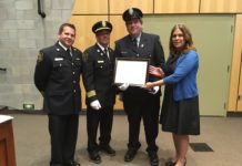 North Grenville Fire Fighter awarded exemplary service medal