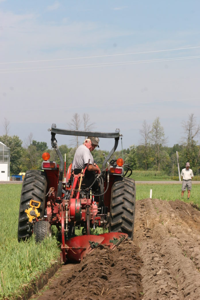 Local man wins big at Plowing Match